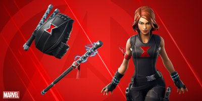 Black Widow and Avengers-themed cosmetics are coming to Fortnite, leaks reveal | Dot