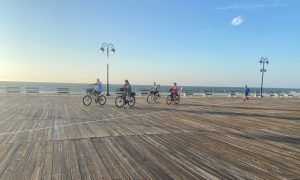 Bicycles on the Ocean City Boardwalk (photo credit: JClifford)