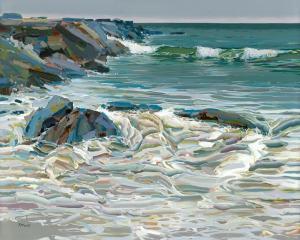 Alone with the Sea, Copyright Josef Kote 2020