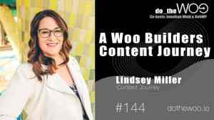 Do the Woo Podcat Guest Lindsey Miller Episode 144