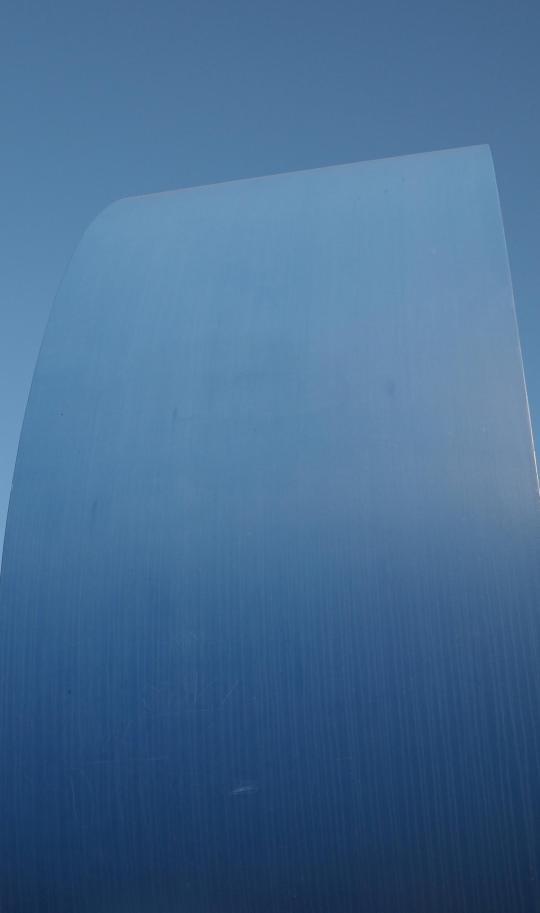 gerundetes blau, rupprecht geiger (1987)