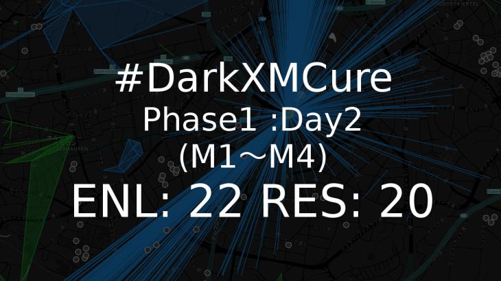 ingress Darkxmcure phase1day2m1-m4