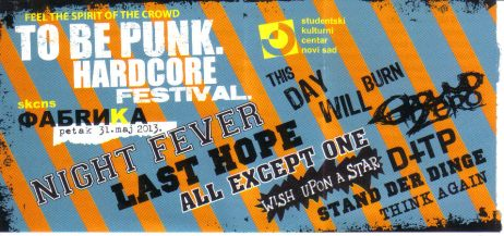 To Be Punk 31.05. 2013.