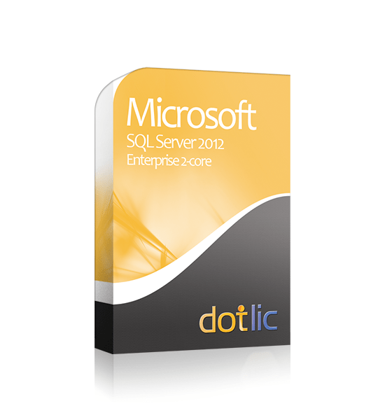 SQL 2012 Enterprise 2-core