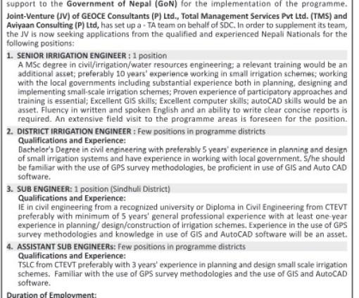 SIP Vacancy 2075
