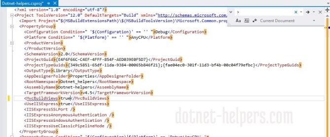 How to Detect Errors of Our ASP.NET MVC Views on Compile Time - MVC Build View - dotnet-helpers