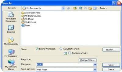Microsoft Excel 2003 : File Menu and Its Commands-1 3