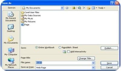 Microsoft Excel 2003 : File Menu and Its Commands-1 4