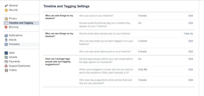 Facebook Timeline Review settings to avoid Porn Spam Attack