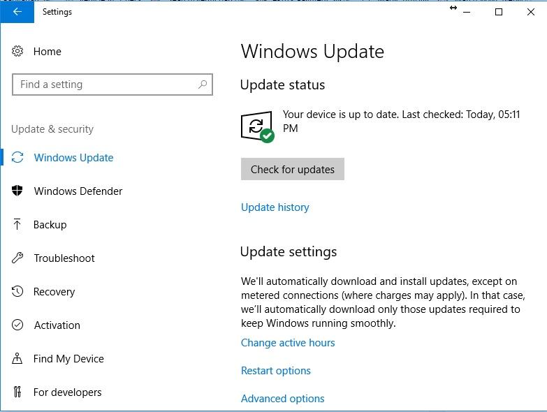 Download Windows 10 Fall Creators Update