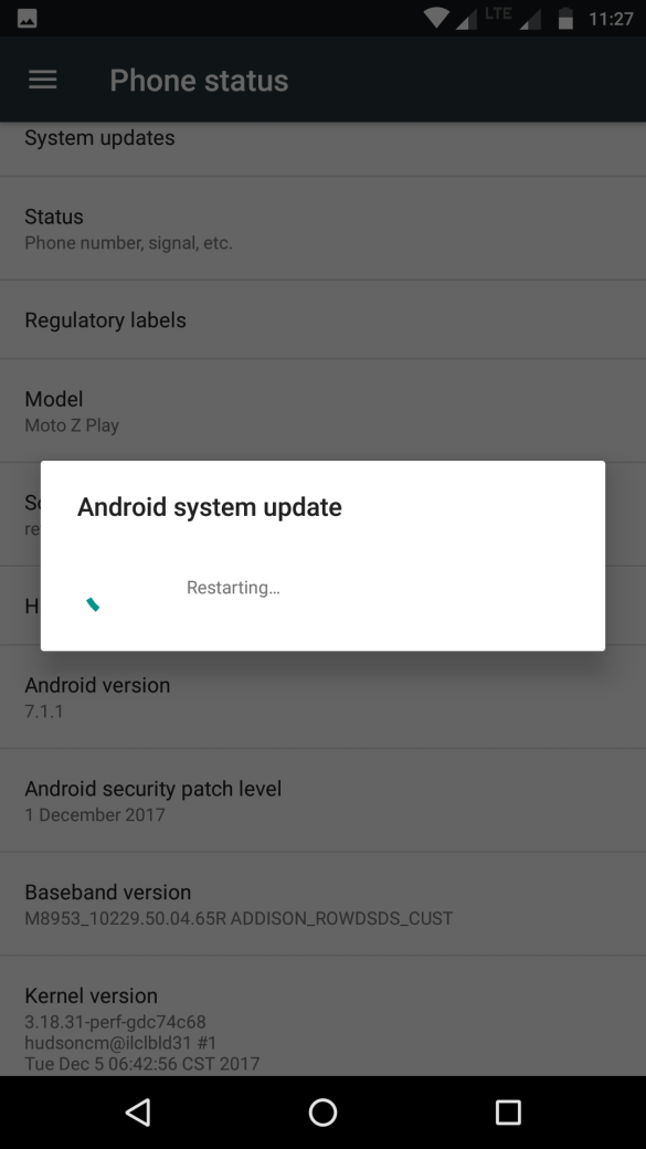 Android Update for Moto Z Play - NPNS26.118-22-2-17 7