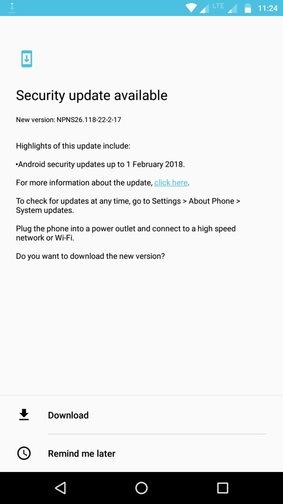 Android Update for Moto Z Play - NPNS26.118-22-2-17 3