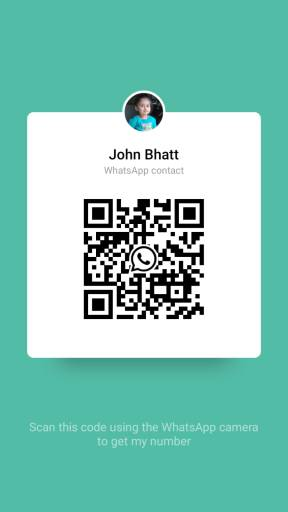 How to add WhatsApp contact using QR Code?