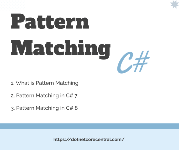 Pattern matching in C#