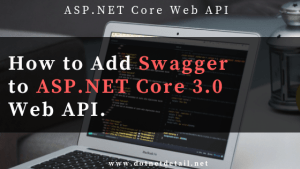 swagger with asp.net core 3.0 web api