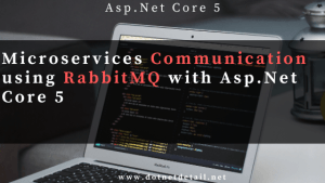 Microservices communication using rabbitmq in asp.net core