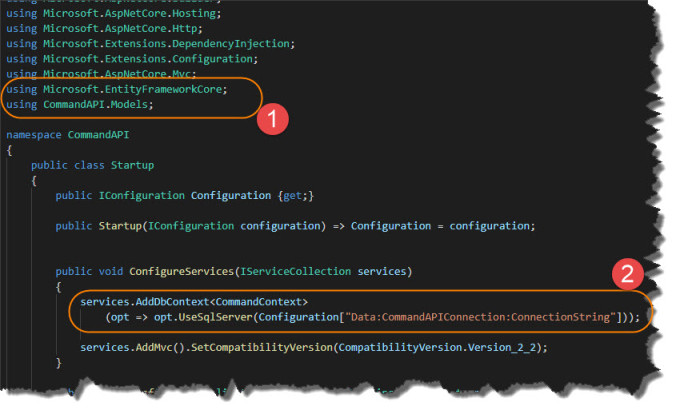 Develop a REST API with  Net Core - Dotnet Playbook