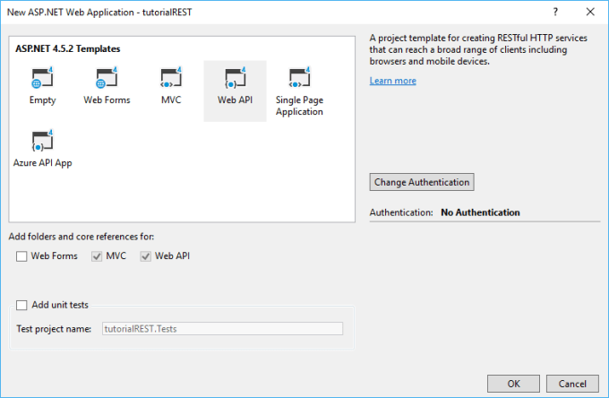 Authenticating to a REST API from c# - Dotnet Playbook