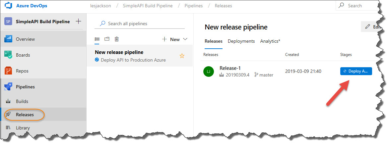Build, Test and Deploy a REST API with Azure DevOps - Dotnet
