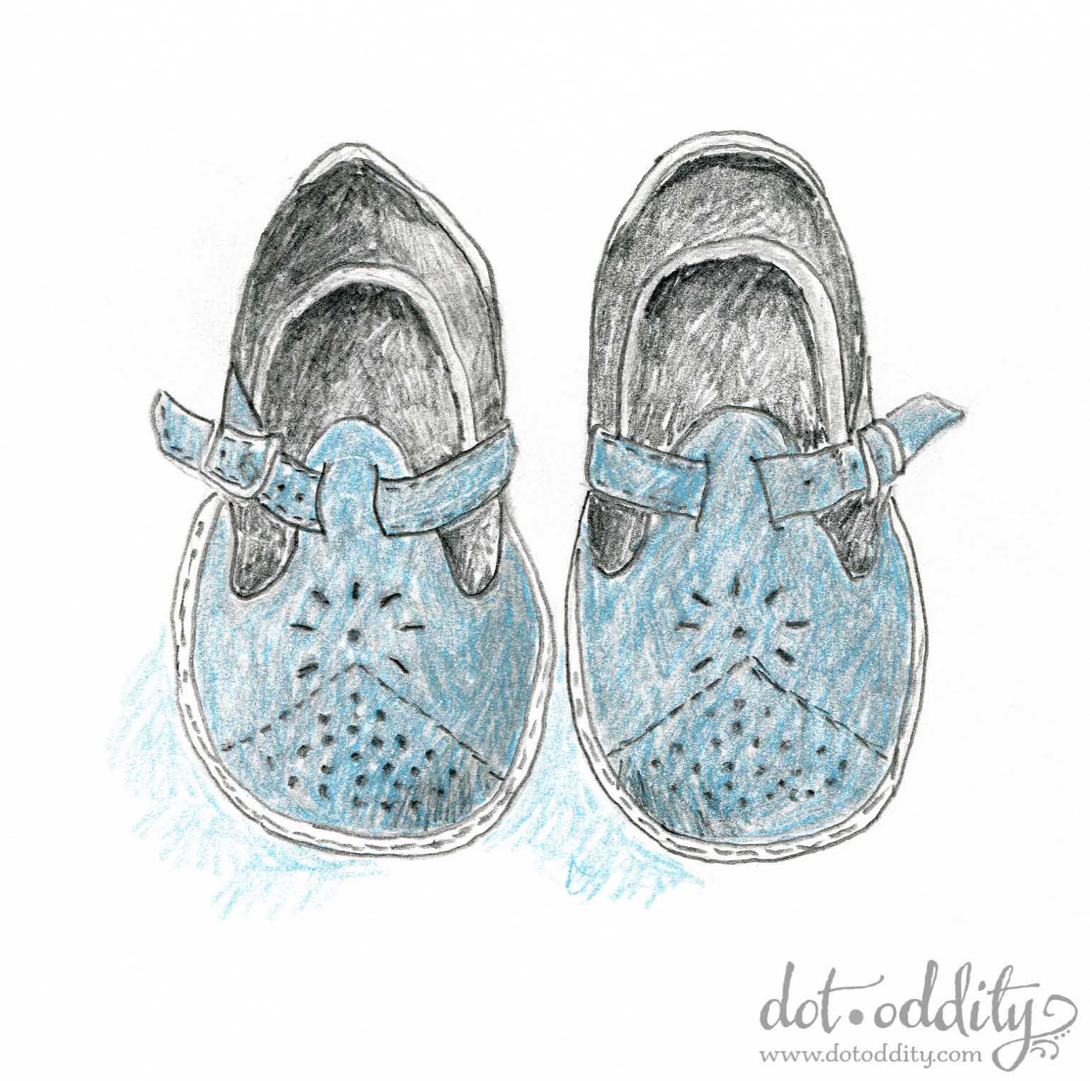 the little shoe project 2015 august by Maria Larsson