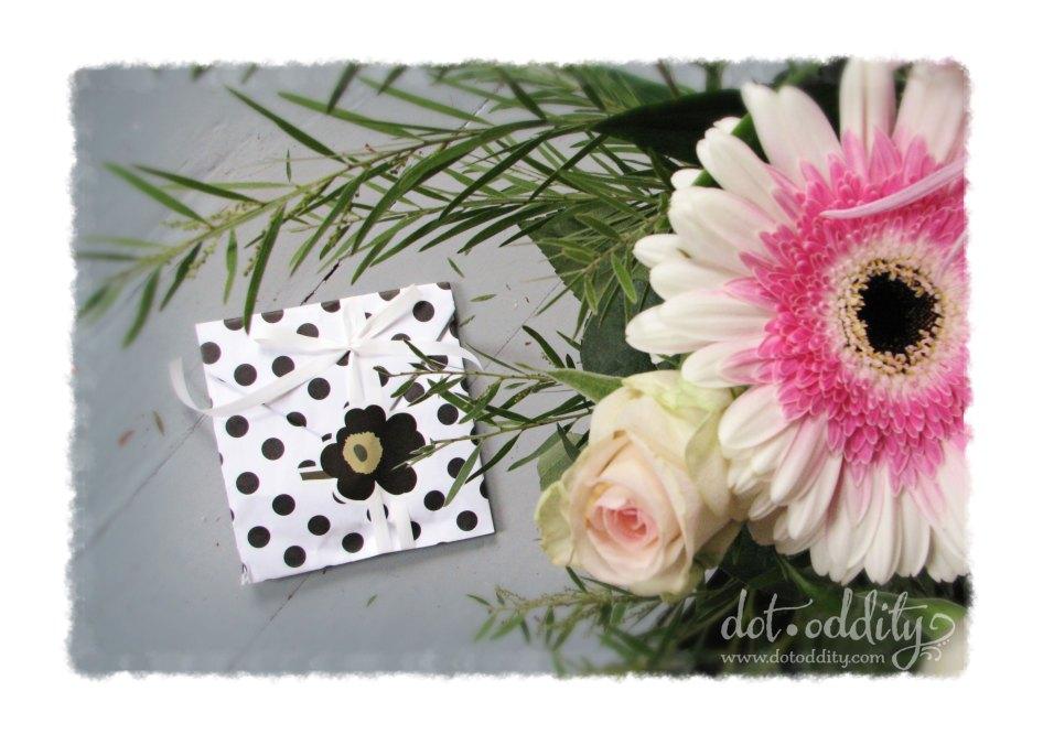 Marimekko gift and flowers