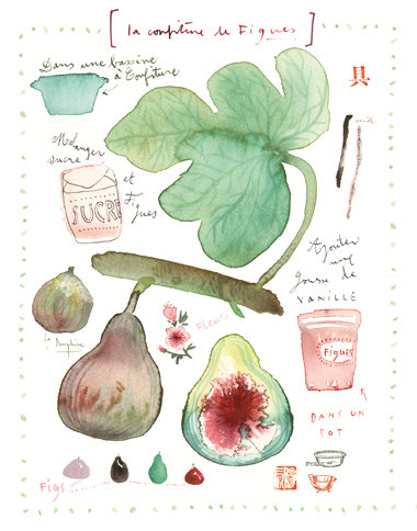 Fig marmelade by Lucile Prache