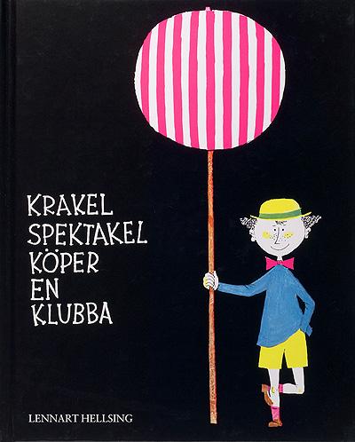 Krakel spektakel children illustration Stig Lindberg