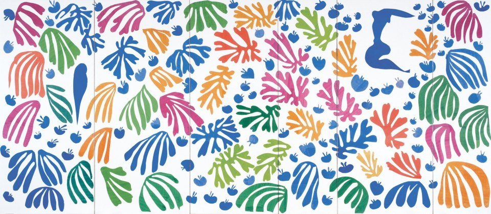 The Parakeet and the Mermaid Henri Matisse 1952