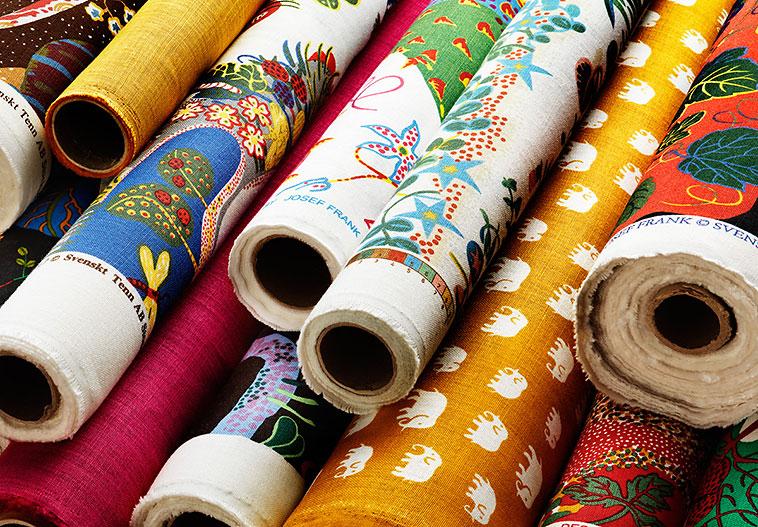 Textiles by Josef Frank