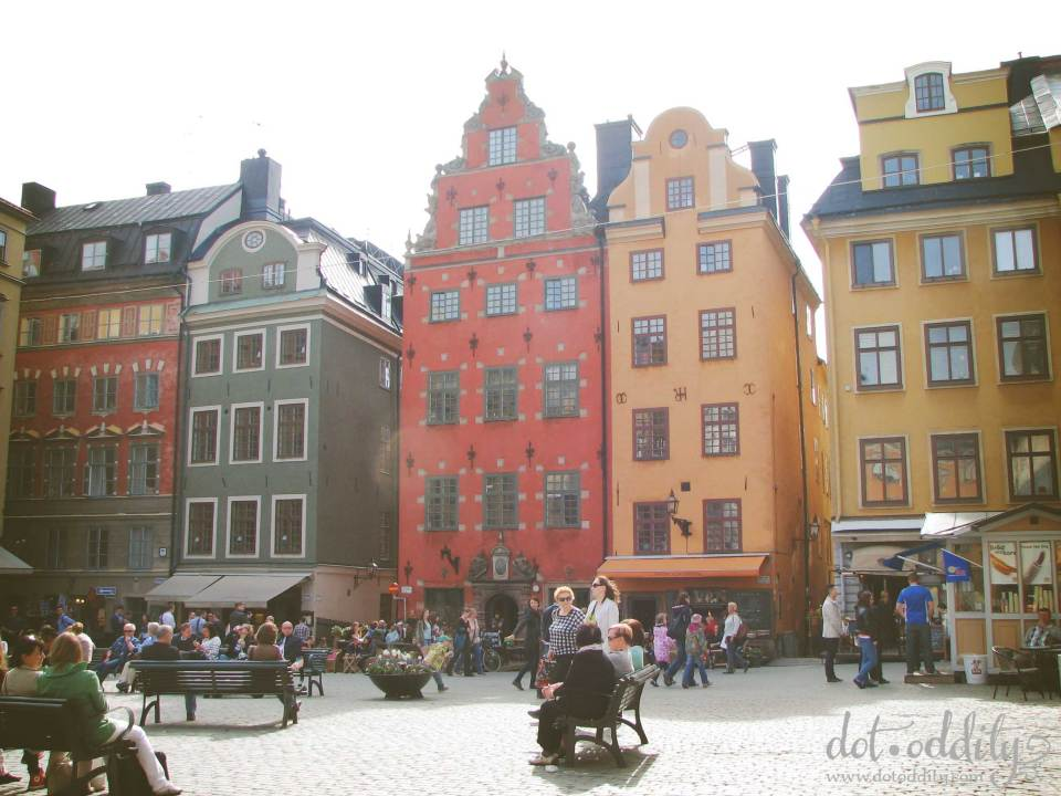 Old Town by Maria Larsson