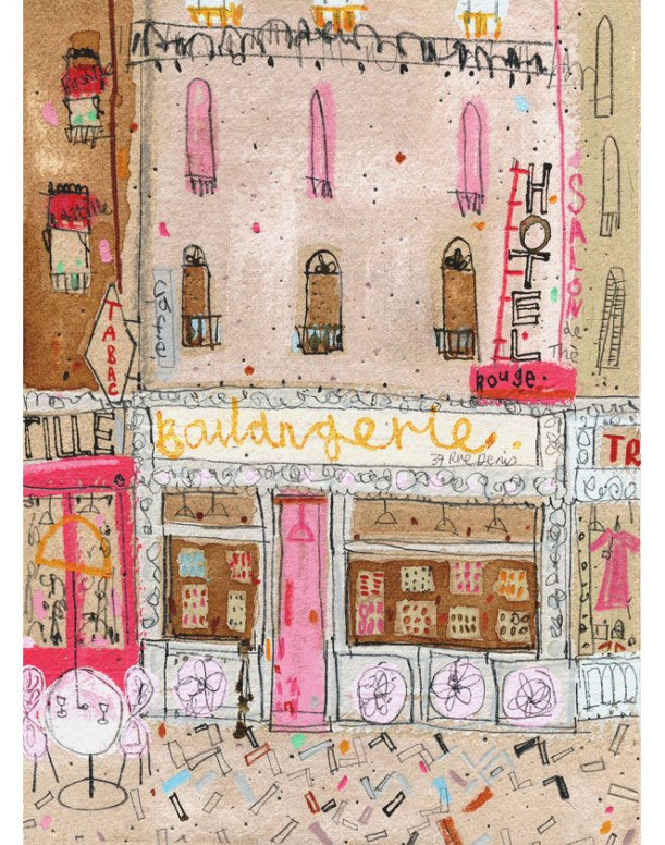 Boulangerie by Clare Caulfield