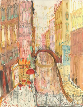 San Polo Venice by Clare Caulfield