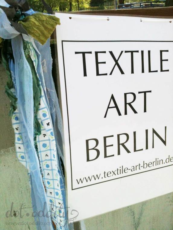 Textile art Berlin photo by Maria Larsson
