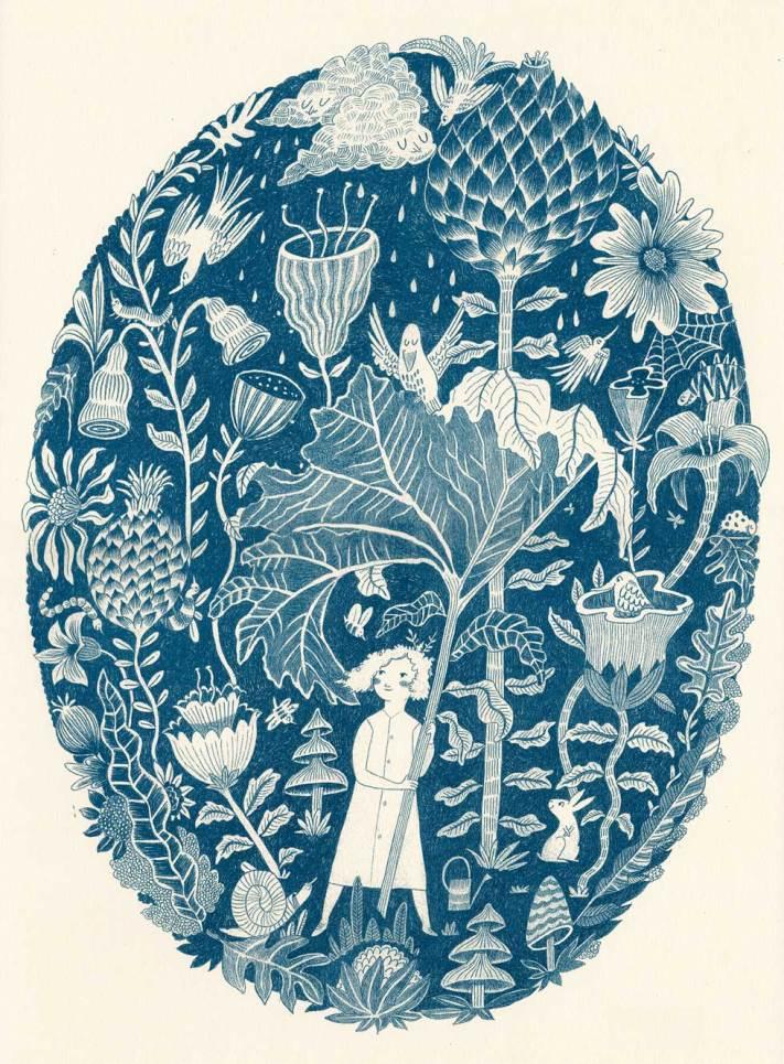 Melissa Castrillón Botanic print