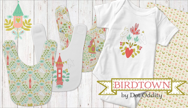 Birdtown bib promo