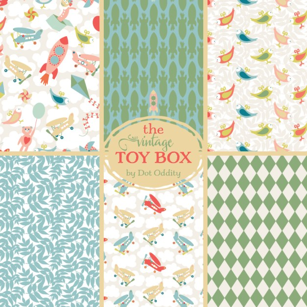 Vintage-Toy-Box-collection-display new
