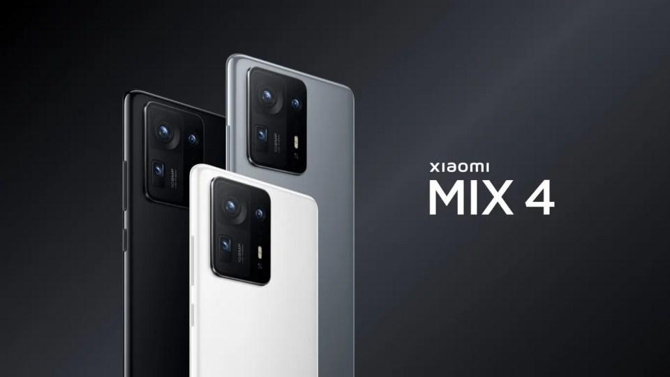 Xiaomi Mix 4: 108MP, Snapdragon 888+ y cargador de 120W