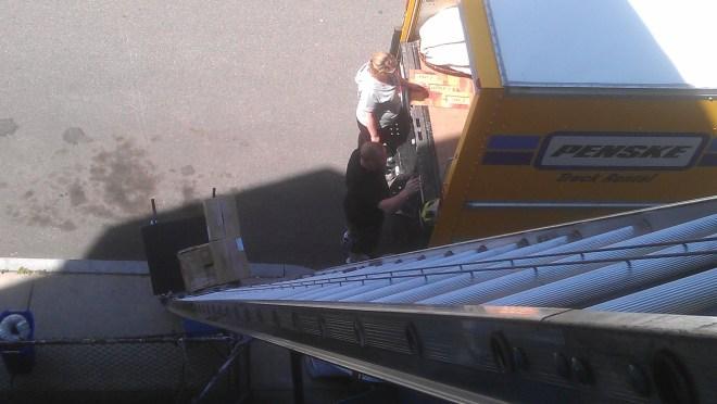 Dorchester Ladder Hoist