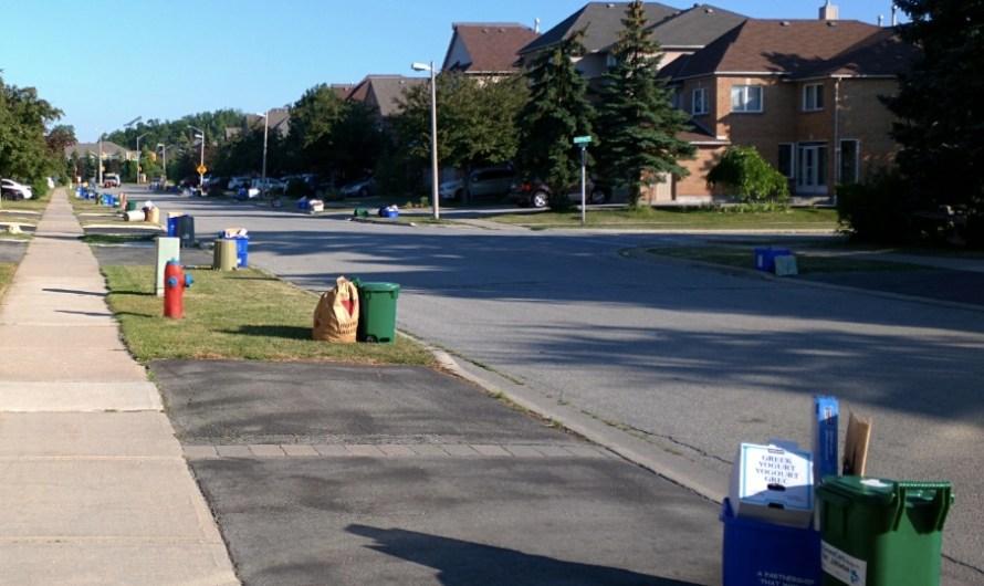 Как вынести мусор в канаде