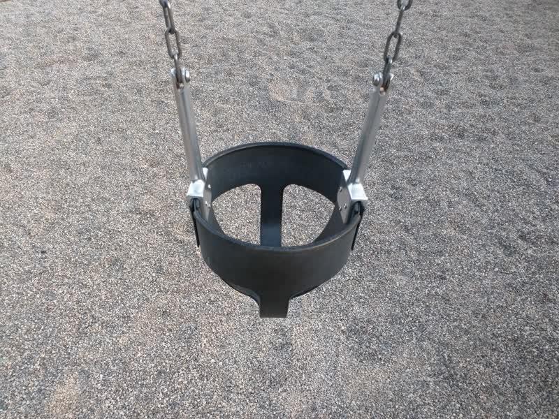 Small swing, close