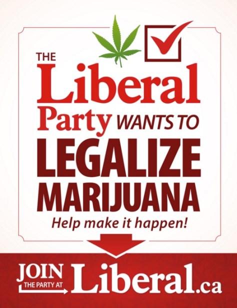 Лозунг либеральной партии