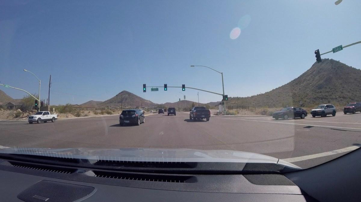 Дорога через пустыню 2