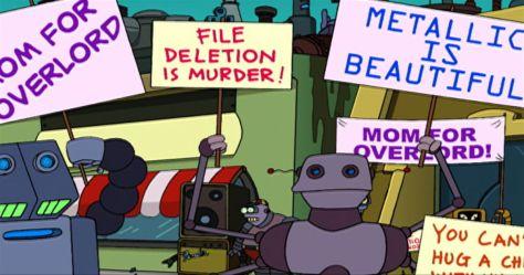 Futurama восстание роботов
