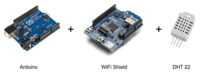 Arduino + WiFi + DHT22