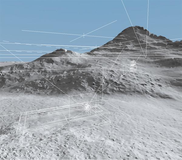 Terragen 3D View