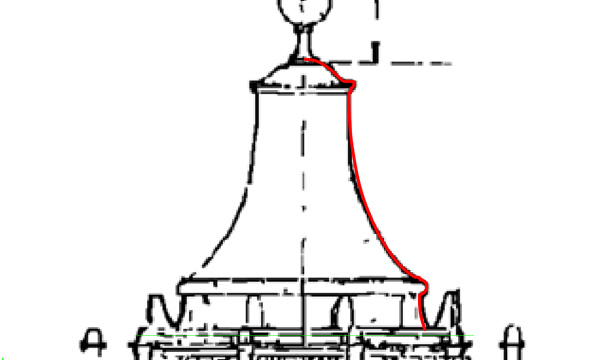 Top Dome Profile Curve