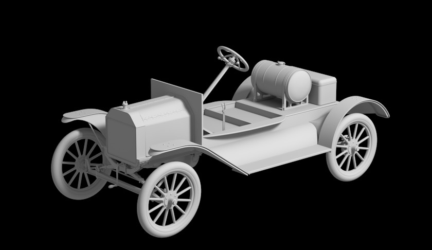 Chassis with Fenders