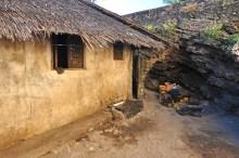 A cidade de Macuti fica em um nível mais baixo que a cidade de Pedra, como podem ver na comparação desta foto.