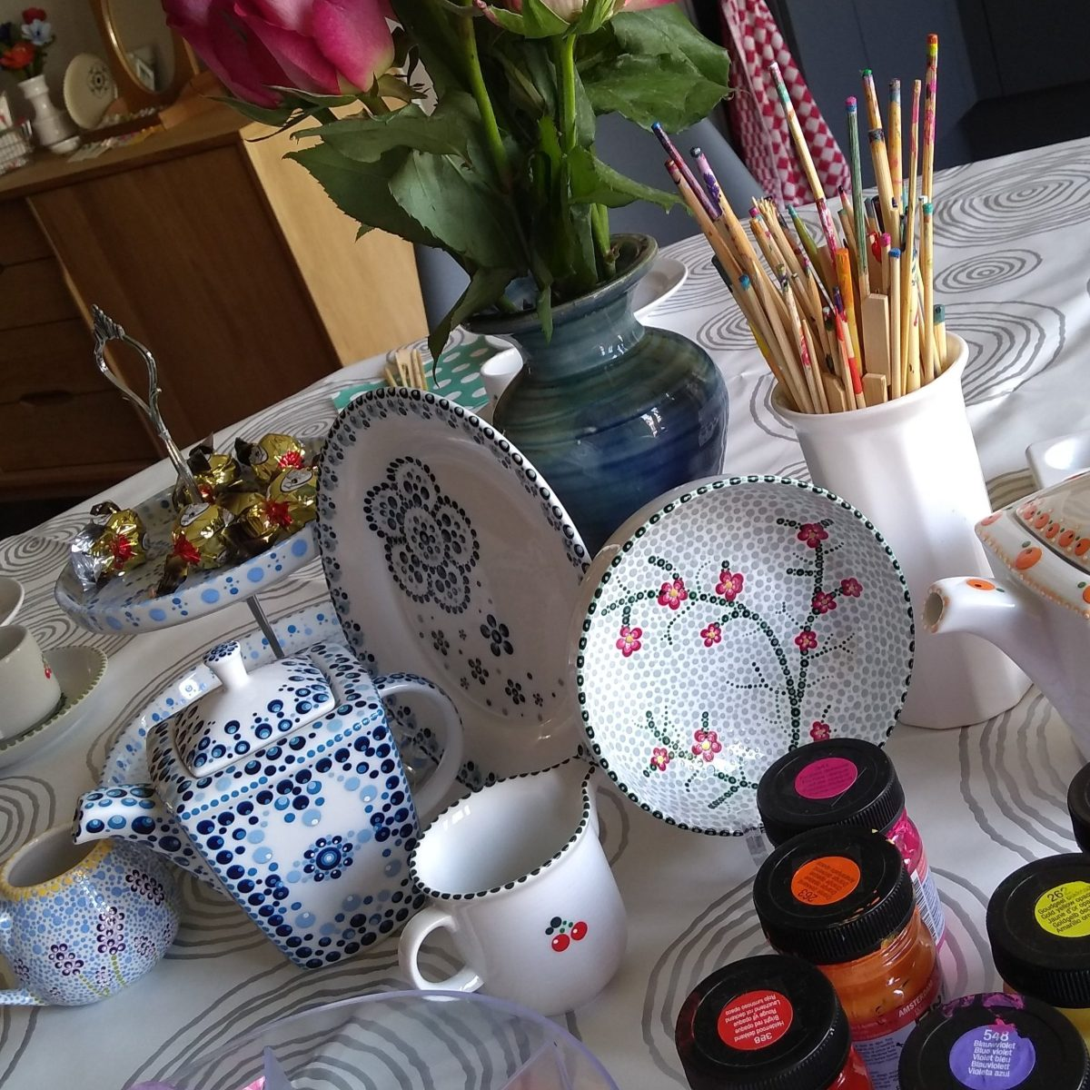High tea met workshop zaterdag 18 mei 2019