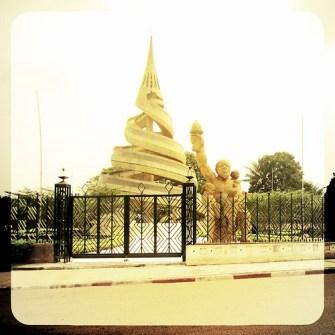 Yaoundé, ville touristique? Non, pas du tout.